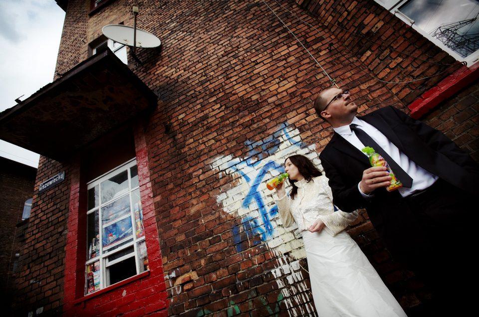 Plener ślubny w Nikiszowcu