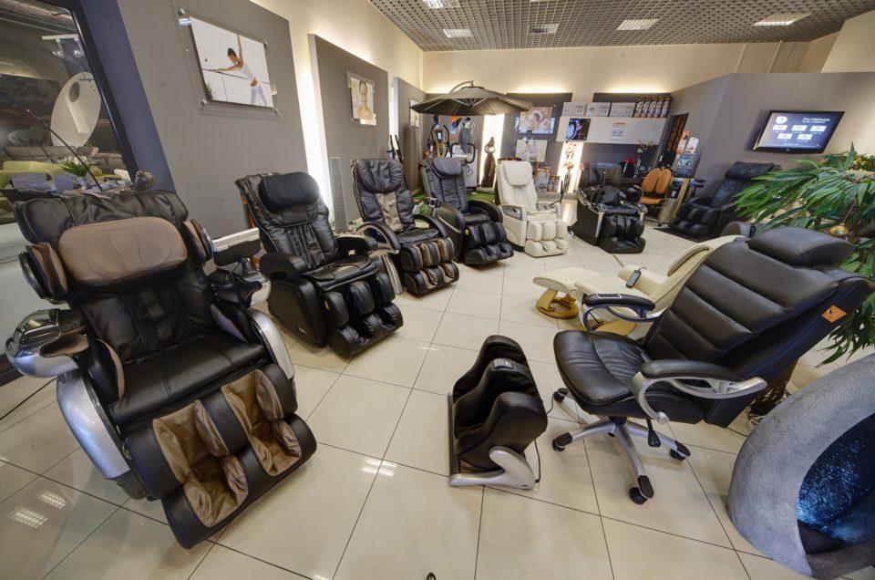'Salon firmowy foteli masujących PRO-WELLNESS' – Realizacja Zdjęcia Firmowe Google