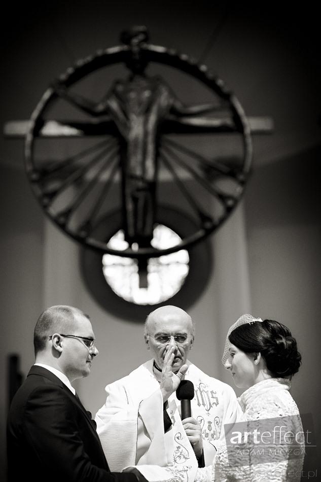 fotografia ślubna Katowice kościół katedra Wesele Chata z Zalipia zdjęcia ślubne