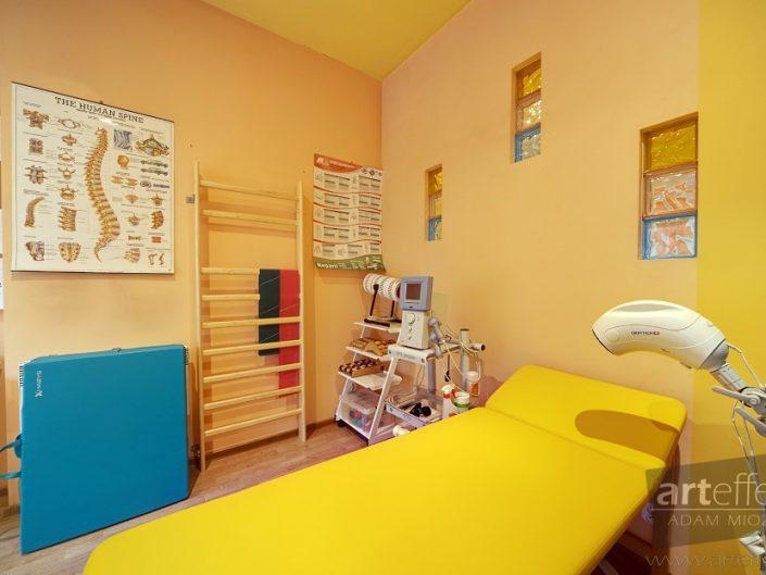 fotograf Częstochowa wnętrza gabinety lekarskie NZOZ Zdrowie
