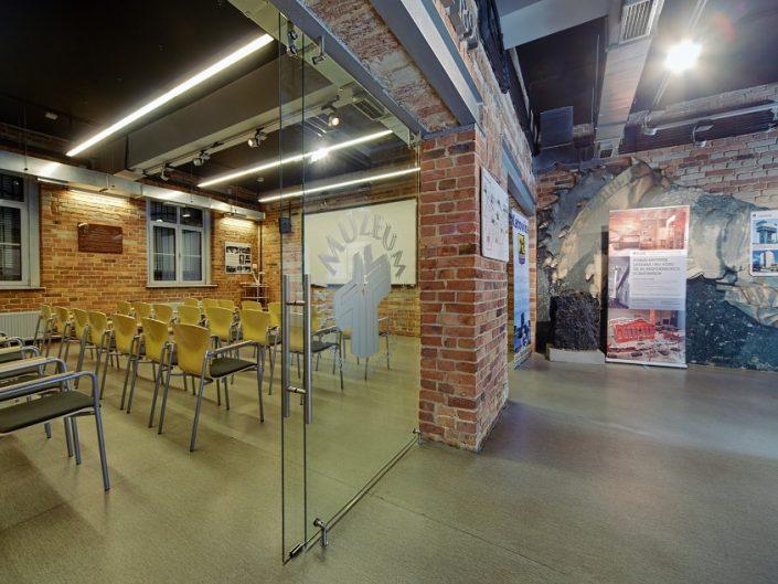 fotograf śląskie centrum solidarności Katowice wnętrza