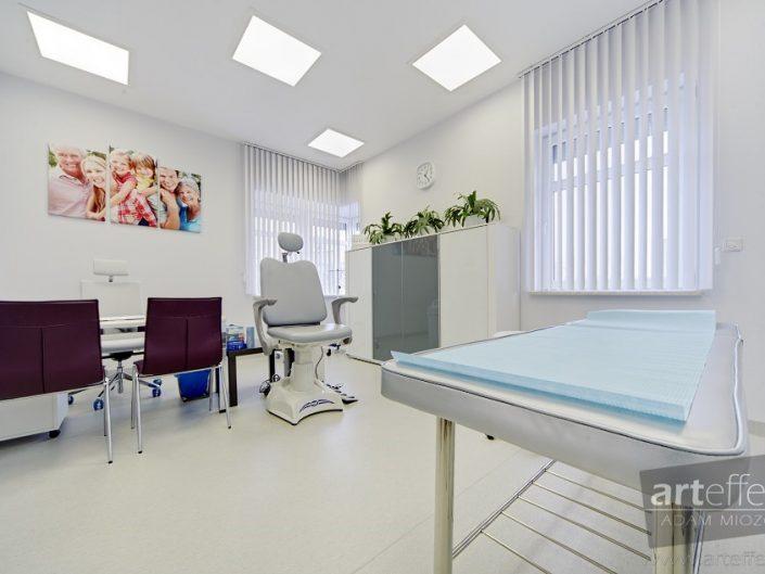 fotograf Katowice wnętrza gabinety lekarskie