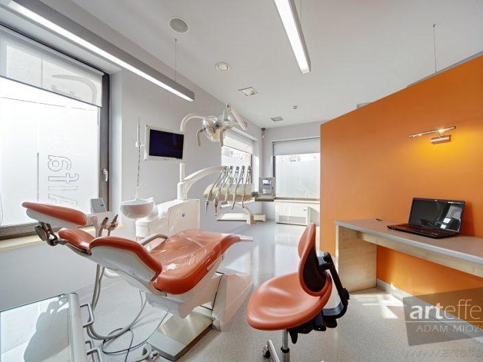 Fotograf Łaziska wnętrza stomatolog