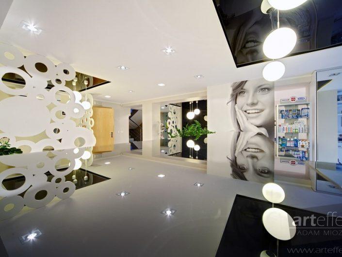 zdjęcia wnętrz katowice fotografia stomatologiczna Klinika Borczyk