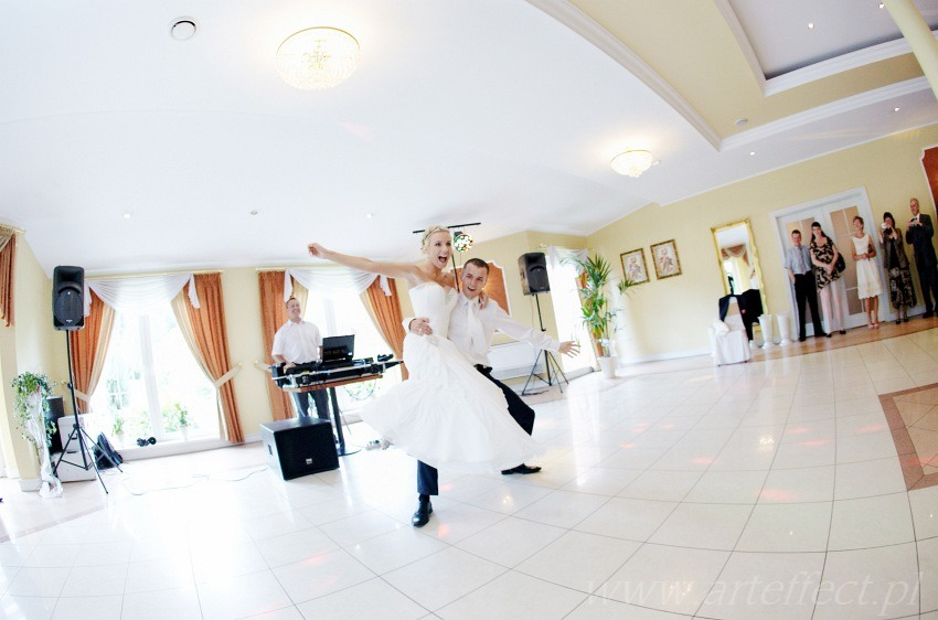 zdjęcia ślubne Gliwice fotograf na wesele restauracja hotel Sylwia
