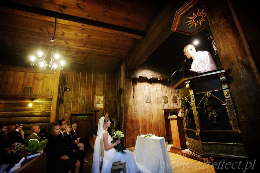 zdjęcia ślubne Katowice kościół św Michała wesele restauracja Patio Park
