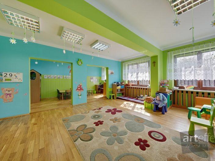 zdjęcia wnętrz przedszkole Tęcza Katowice