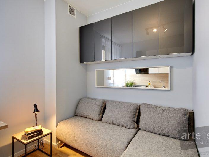 Małe mieszkanie na wynajem w Zabrzu, fotograf wnętrz Zabrze