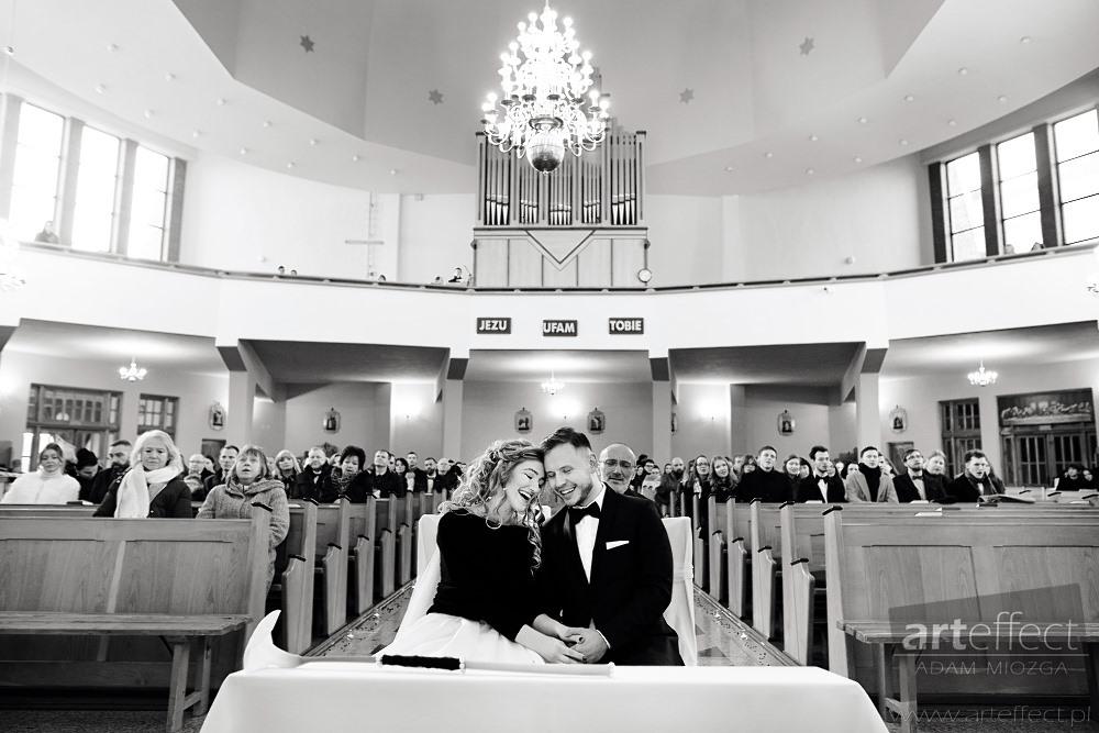ślub kościół Maksymiliana Kolbego Dąbrowa Górnicza